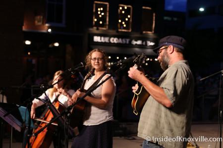The Lonetones, Bob Dylan Bash, Market Square, Knoxville, June 2014