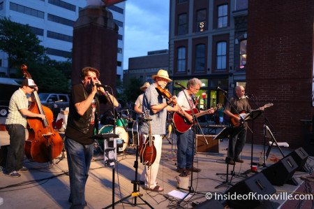 Y'uns, Bob Dylan Bash, Market Square, Knoxville, June 2014