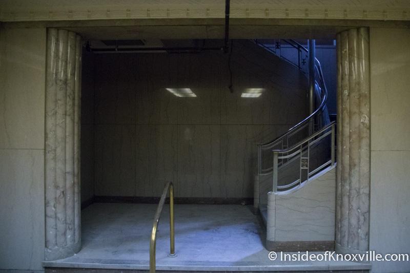 A Look Inside the Bottom Floor of the Holston