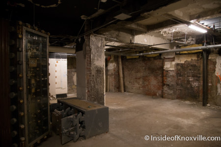 Basement Space at the Holston,  531 South Gay Street, Knoxville, July 2014