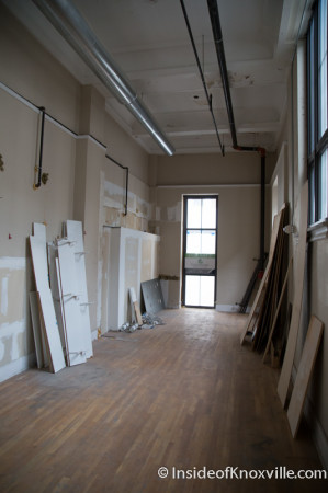 First Floor Space at the Holston,  531 South Gay Street, Knoxvil