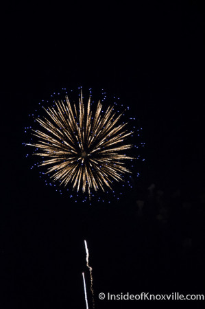 Fourth of July Fireworks, Knoxville, 2014