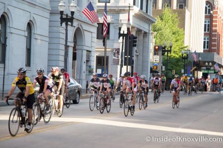Tour de Rocky Top, Knoxville, July 5, 2014