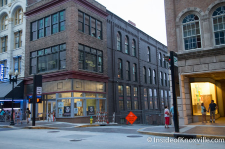Tailor Lofts, 430 South Gay Street, Knoxville, July 2014