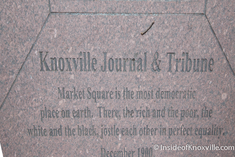 Written in Stone: Inscriptions on Market Square