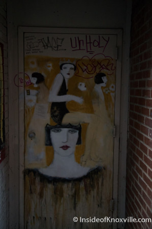 Art in Armstrong/Strong Alley, Knoxville, July 2014