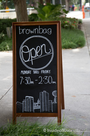 Brown Bag, First Tennessee Tower, 800 S. Gay Street, Knoxville, August 2014