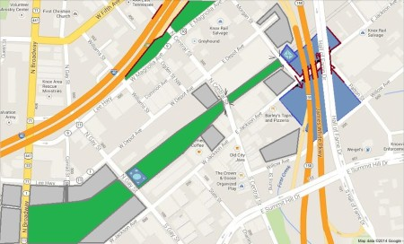 East Jackson/Depot Map 2