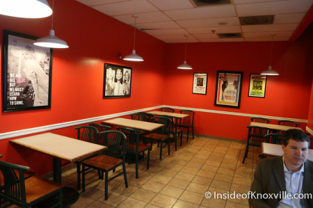 Empire Deli, Downtown Knoxville, August 2014