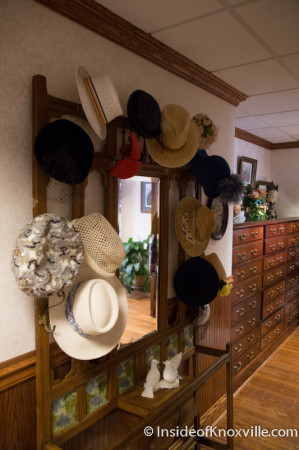 Vintage Hat Collection, Fifth Floor of the Mechanics' Bank and Trust Company Building, Knoxville, August 2014
