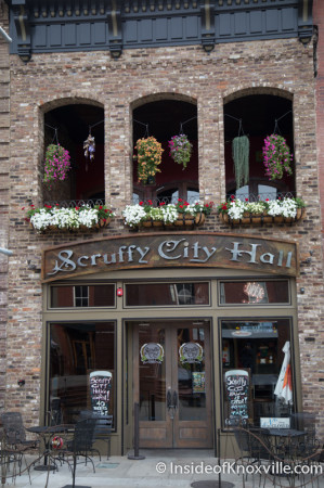 Flowers by Paula at Scruffy City Hall, Knoxville, August 2014