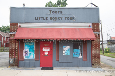 Toots Little Honky Tonk, Happy Holler, Knoxville, Summer 2014