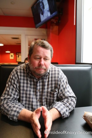 John Wright, Co-Owner, Empire Deli, Downtown Knoxville, August 2014