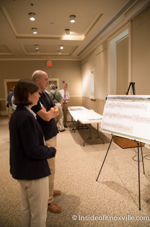 Meeting on the Downtown Mobility Plan, Knoxville, August 2014