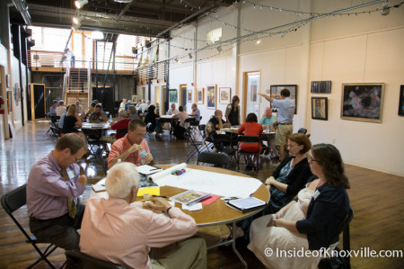 Public Meeting on the Future of the City Park at Summit and Gay, Knoxville, August 2014