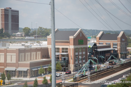 University Commons, Knoxville, August 2014