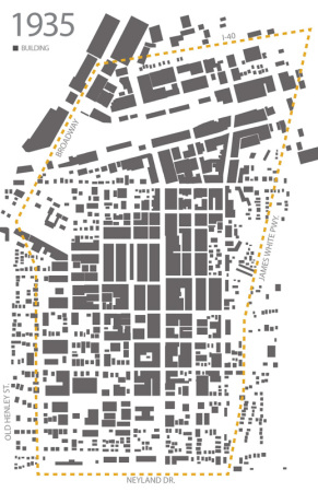 Density Diagram, Knoxville, 1935