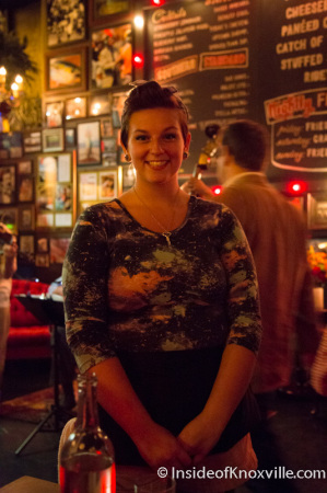 Alexandra Hersch, Waitress, Five Bar, Knoxville