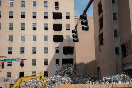 Baptist-Hospital-Demolition-Knoxville-Au