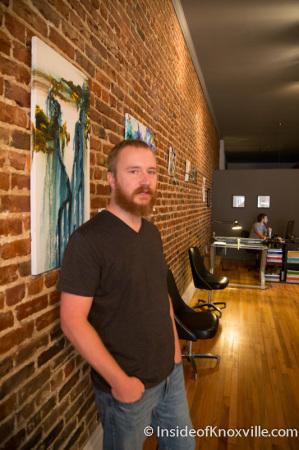 Ben Hubbard, The Village 133c South Gay Street, Knoxville, September 2014