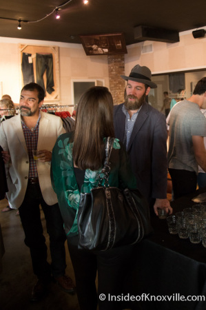 Brent Thompson, Marc Nelson Grand Opening Party, Knoxville, September 2014