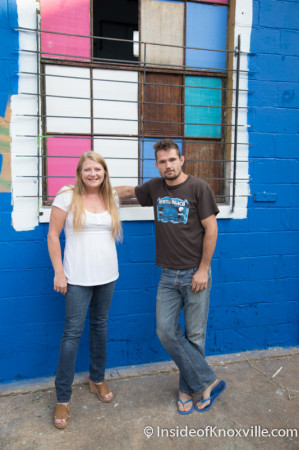 Caleb Boyers and Reida Gillespie of Bar Marley, 760 Stone Street, Knoxville, August 2014