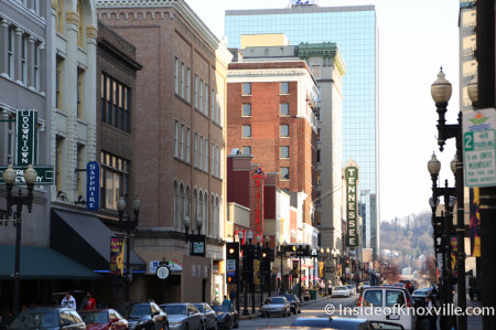 Downtown Knoxville, Spring 2014