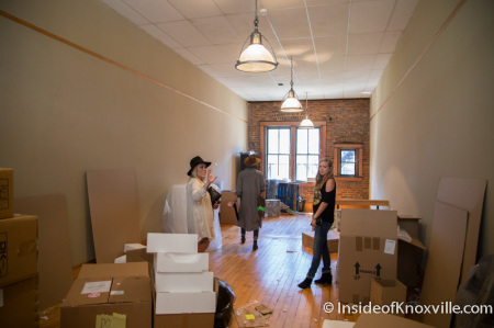 Future Home of Bula Boutique, 115 South Gay Street, Knoxville, September 2014