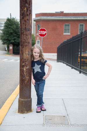 Hanging with Urban Girl, Knoxville, September 2014