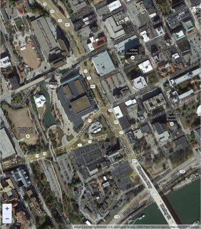 Current Satellite View of Henley Street