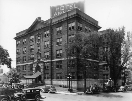 Hotel Arnold, Knoxville, 1920s