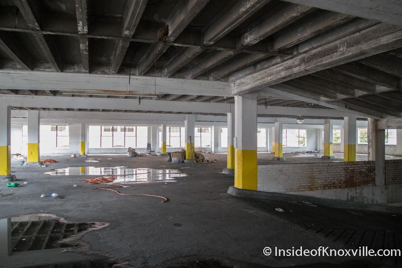 Saying Goodbye To Pryor Brown Parking Garage