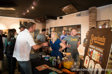 Marc Nelson Grand Opening Party, Knoxville, September 2014