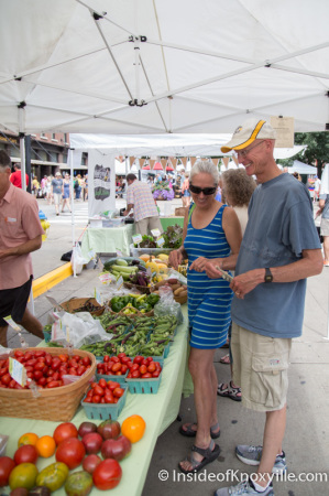 Market Square Farmers' Market, Knoxville, September 2014