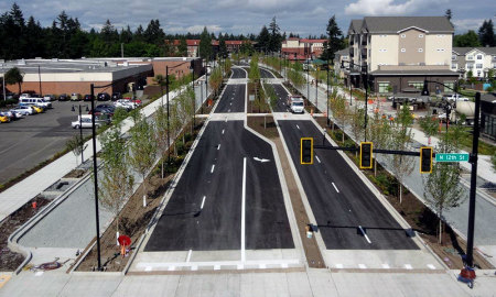 Example of a New Mulitway Boulevard