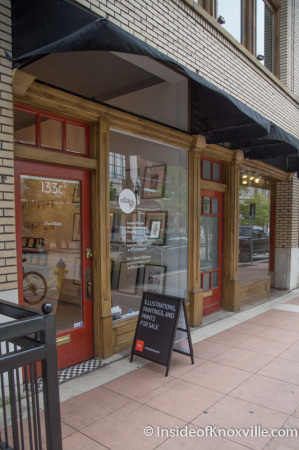 The Village 133c South Gay Street, Knoxville, September 2014