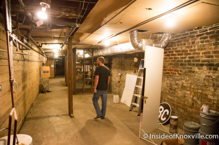 Basement at The Village 133c South Gay Street, Knoxville, September 2014