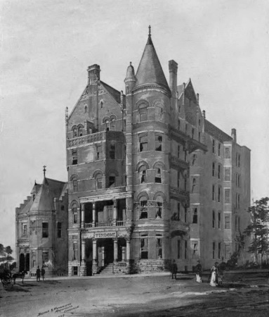 Vendome Apt. House, Knoxville, 1889