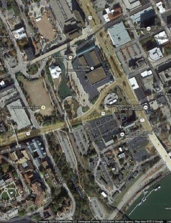 World's Fair Park South Satellite View
