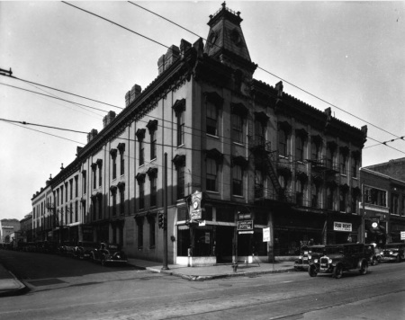 Cumberland Hotel, Knoxville, 1933