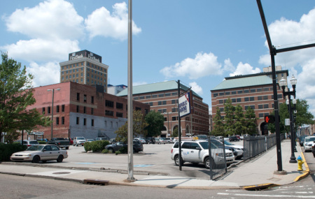 Cumberland Hotel Site, Knoxville, 2013