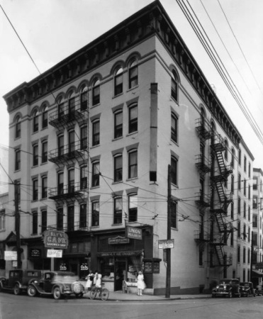 Sprankle Building, Knoxville, Early 1900s