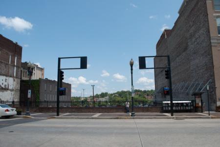 Union Bus Terminal Site, Knoxville, 2013