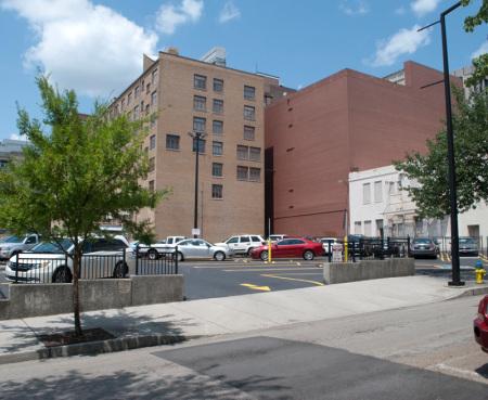 Vendome Apt. House Site, Knoxville, 2014