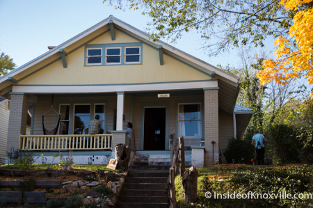 2509 E. Fifth Street, Parkridge Home Tour, Knoxville, October 2014