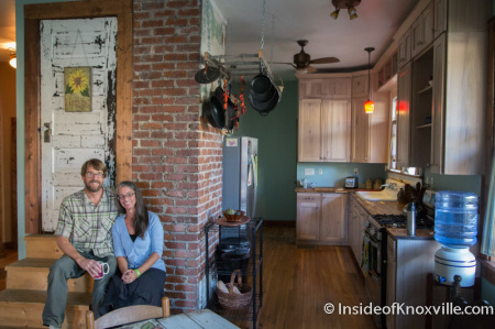 Chad and Tracie Hellwinckel, 2509 E. Fifth Street, Parkridge Home Tour, Knoxville, October 2014