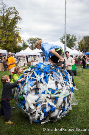 Artober Fest, Fourth and Gill Neighborhood, Knoxville, October 2014