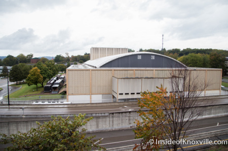 Civic Auditorium and Coliseum, Knoxville, October 2014