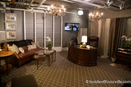Design Room, James Freeman Interiors and Gifts, 108 S. Gay Street, Knoxville, October 2014