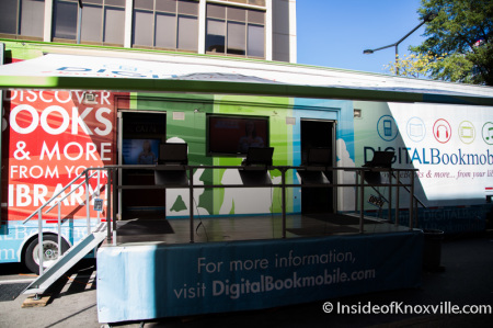 Digital Book Mobile Event, Lawson McGhee Public Library, Knoxville, October 2014